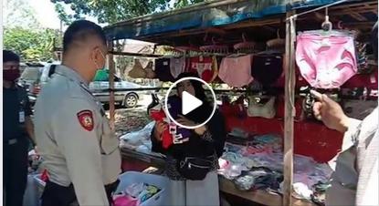 Virus Corona, Covid-19, Jokowi, Viral, polisi