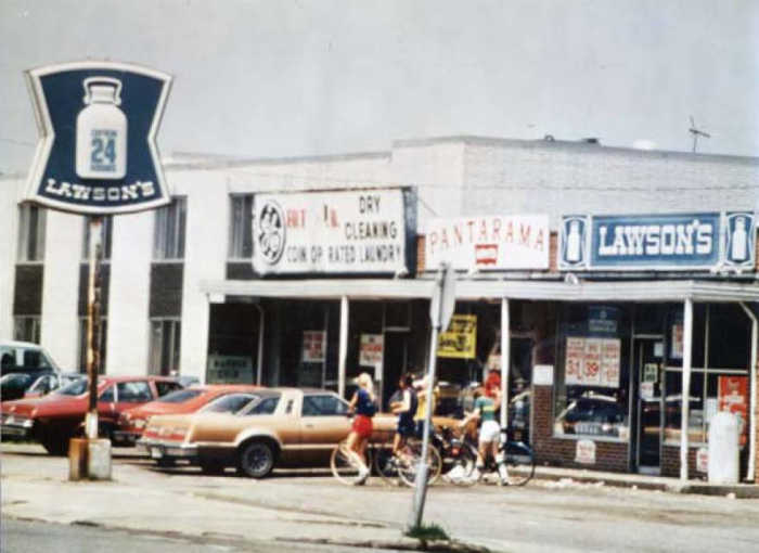 Old photo of a Lawson's store in Northeast Ohio circa 1970s