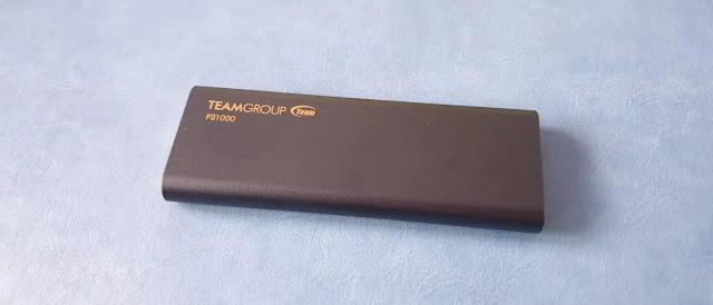 Teamgroup PD1000 external rugged SSD review