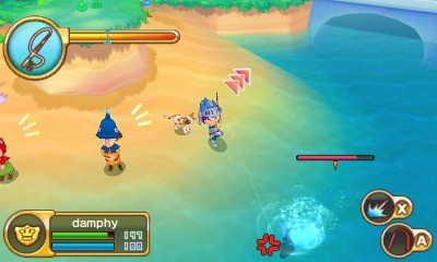 My Top Five Fishing Games   damphy Blogs With so much to do in Fantasy life  it s easy to overlook the addicting  mini game that is fishing  By approaching a fish shadow  the player can  cast their
