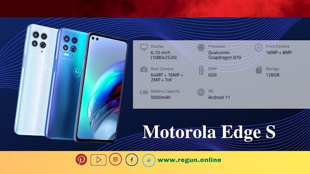 Latest Motorola Edge S- Full phone specifications