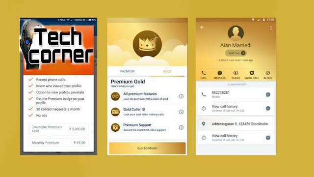 تطبيق ترَوكولر/Truecaller Premium Gold