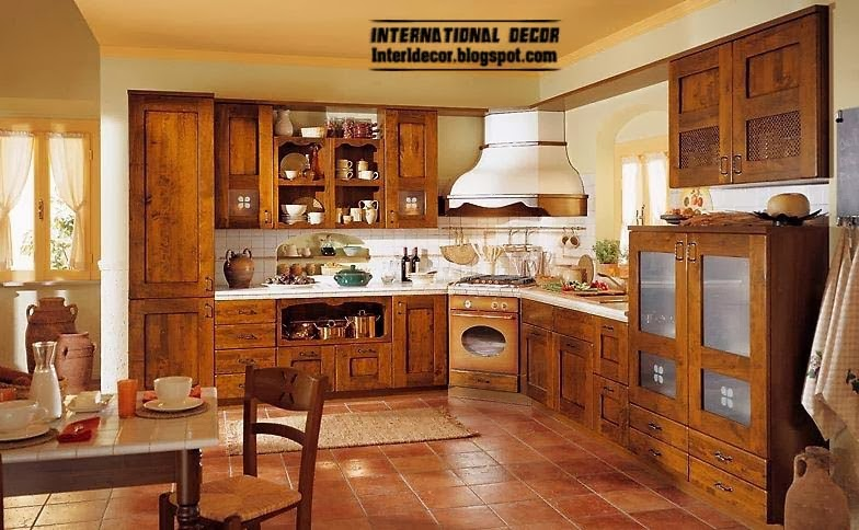 Country style kitchens 15 the best kitchens in country style - Unas modelos para pintar ...