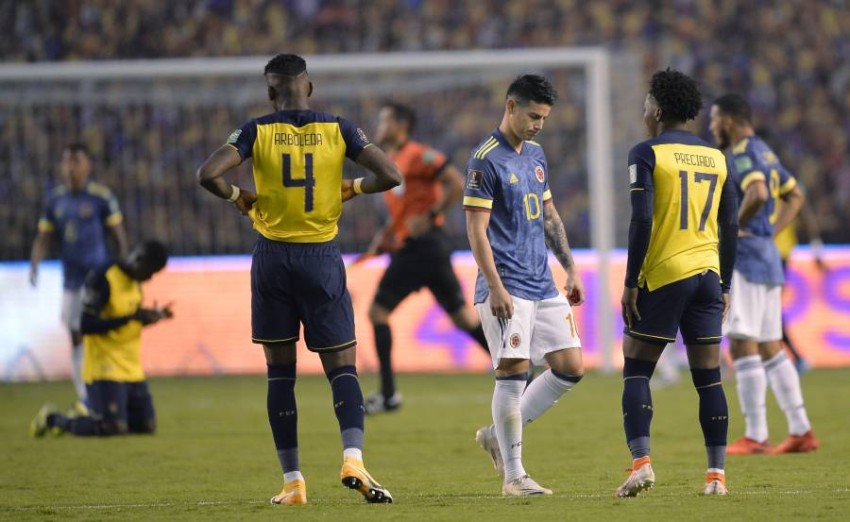 تقرير مباراة كولومبيا والاكوادور كوبا امريكا