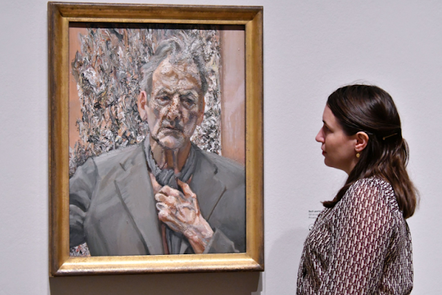 Lucian Freud, Self Portrait (2002)