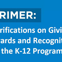 Primer on Giving Awards and Recognition