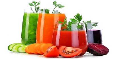 jus buah dan sayur makanan untuk ibu mengandung