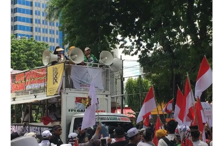 FPI Tabrak Larangan Aksi Massa Dari Anies, FPI : Ini Demo.. Bukan Acara Kumpul-Kumpul