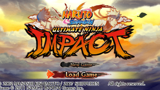 Review Singkat Game Jadul Naruto shippuden : Ultimate Ninja Impact PSP