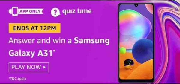 Today amazon daily quiz answers 16 august  2020