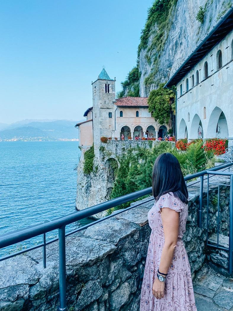 Visita all'Eremo di Santa Caterina del Sasso