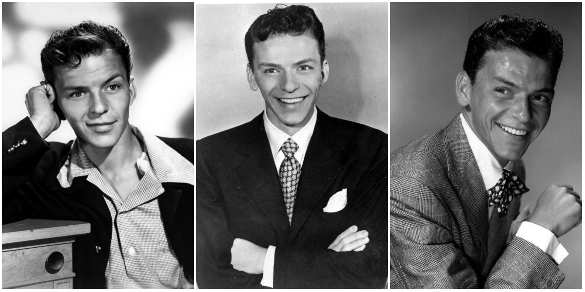 20 Black and White Photos of a Very Young Frank Sinatra in the ...