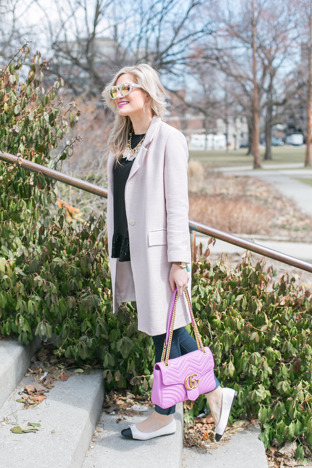 Bijuleni | The Perfect Blush Coat For Spring