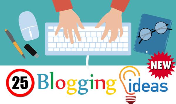 25 New Blogging Niche Ideas 2019