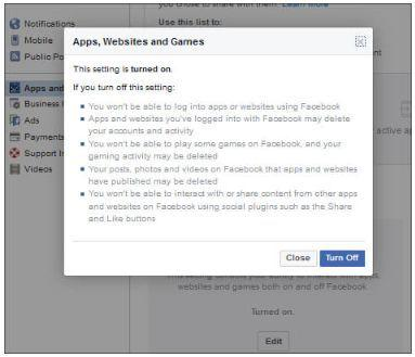 How to prevent third-party apps from using Facebook data on your PC and Android