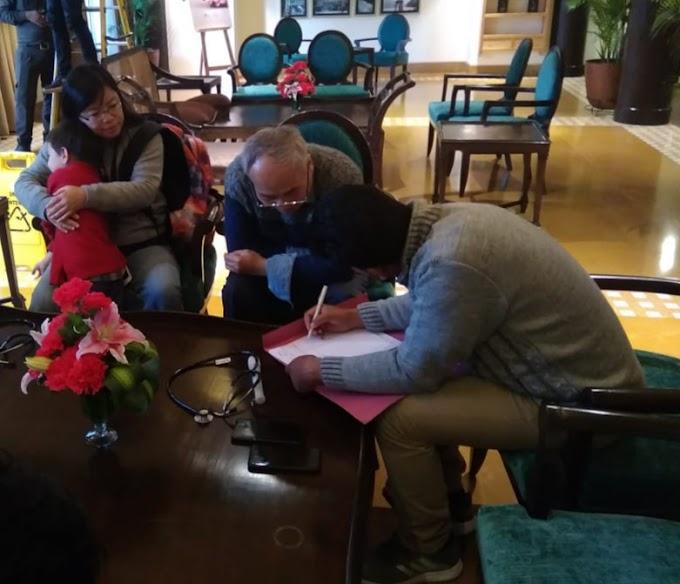 बड़ी खबर-ऋषिकेश में दो विदेशी महिलाएं कोरेना के संदेह को लेकर एम्स में भर्ती