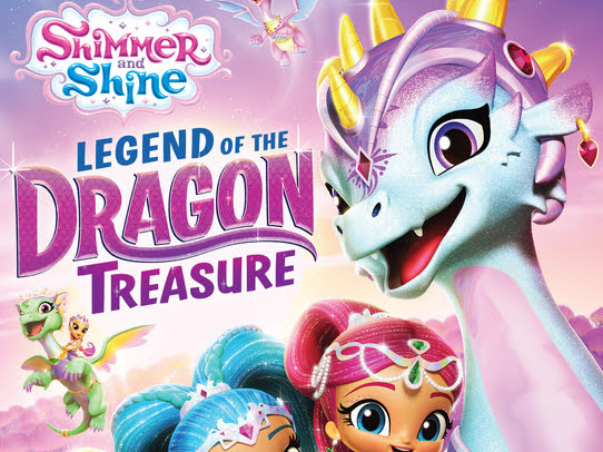 Shimmer and Shine: Legend of the Dragon Treasure available on DVD August 20th + DVD #Giveaway