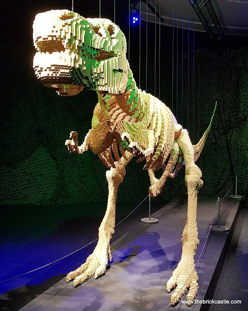 The Art Of THe Brick LEGO dino dinosaur t-rex model