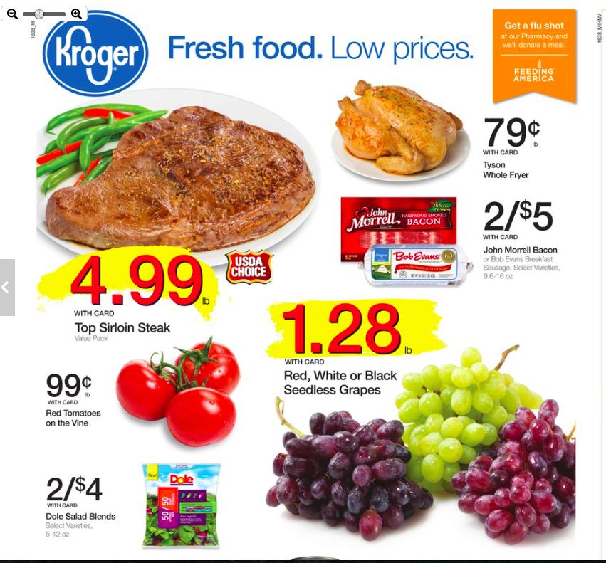 Kroger Weekly Hot Deals 10/19-10/25/16