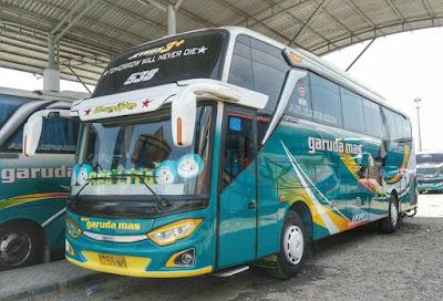 Foto Bus Garuda Mas Jetbus 3+ Realita