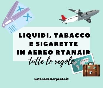 liquidi in aereo ryanair