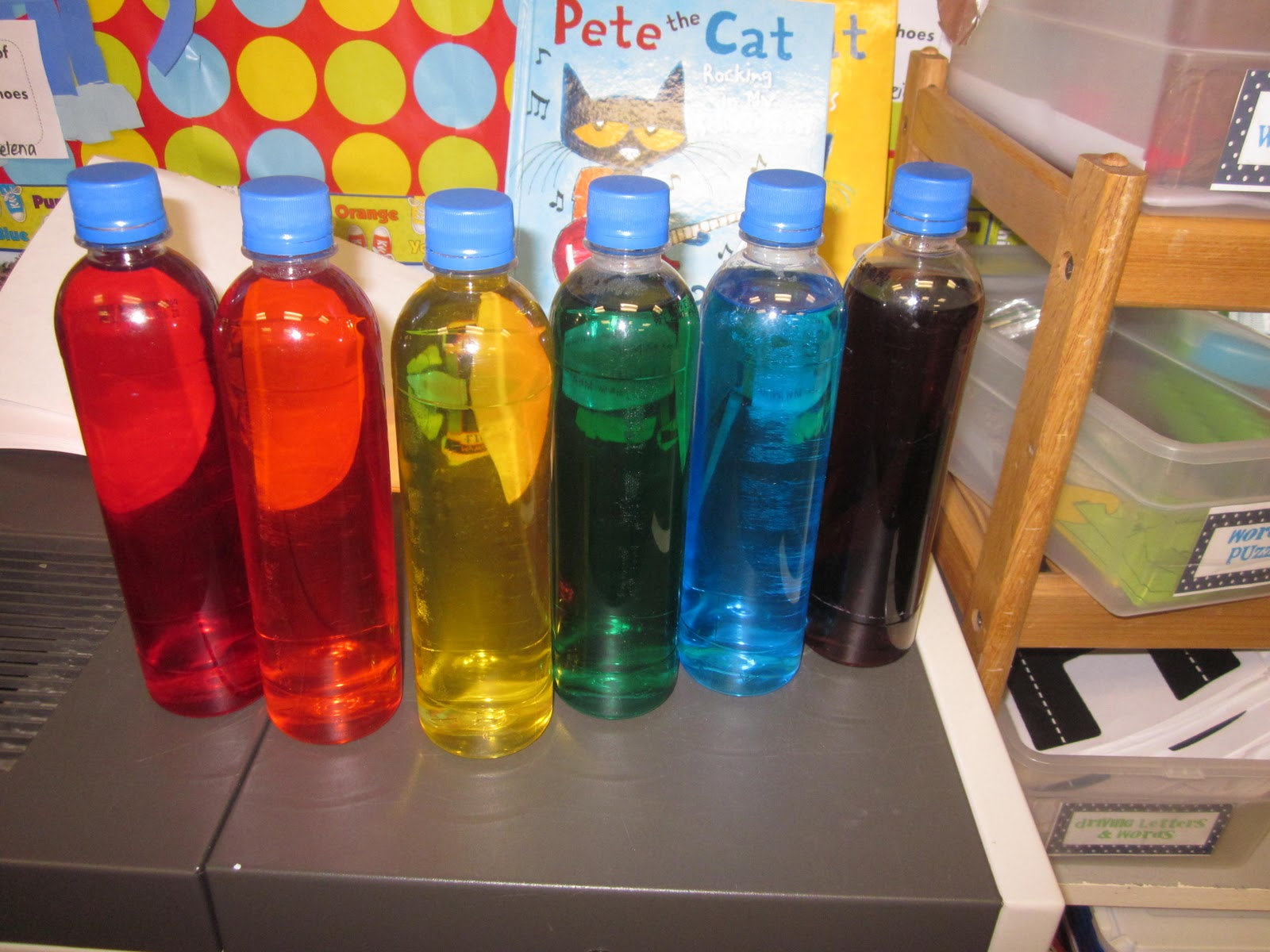 Mrs Miner S Kindergarten Monkey Business Rainbow Science