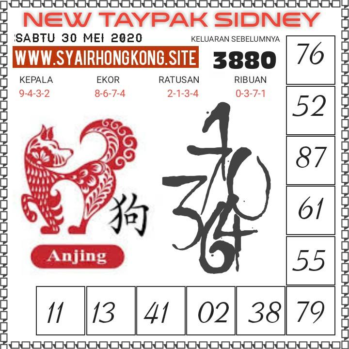 Prediksi Syair Sydney 30 Mei 2020