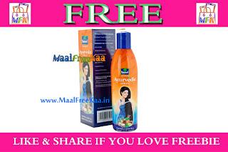 Free Sample Parachut Hair oil