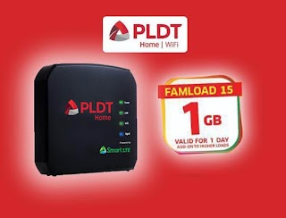 Famload 15 – 1GB Data for Only 15 Pesos valid for 1 Day