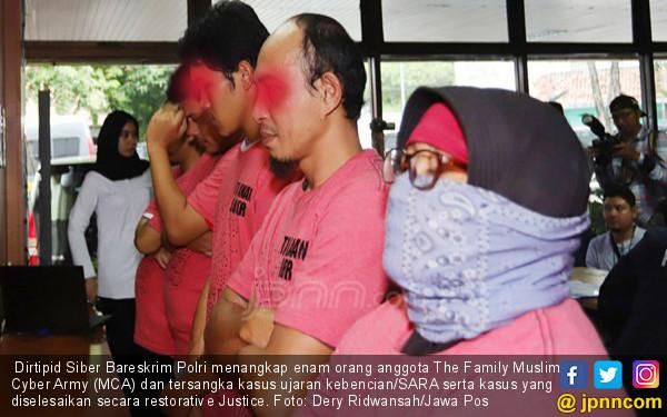 Wanita Konseptor MCA jadi Buronan Polisi
