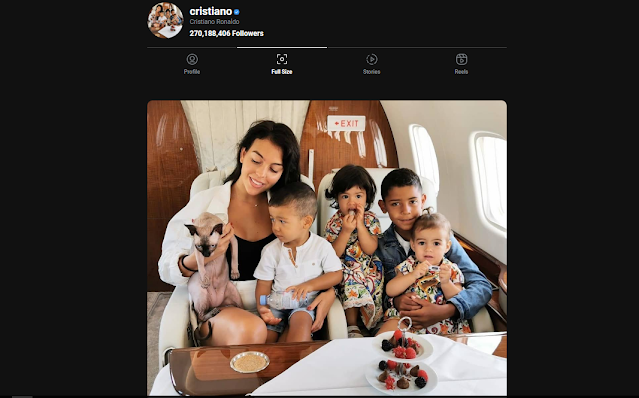 Cara Mendownload Foto Profil Instagram Ukuran Asli