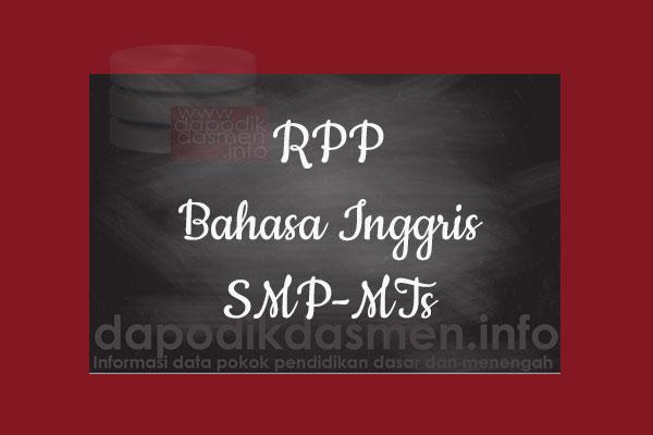 RPP K13 SMP/MTs Kelas 7 Bahasa Inggris Semester 1, Download RPP Bahasa Inggris Kurikulum 2013 SMP Kelas 7 Revisi 2019-2020, RPP Silabus Kelas 7