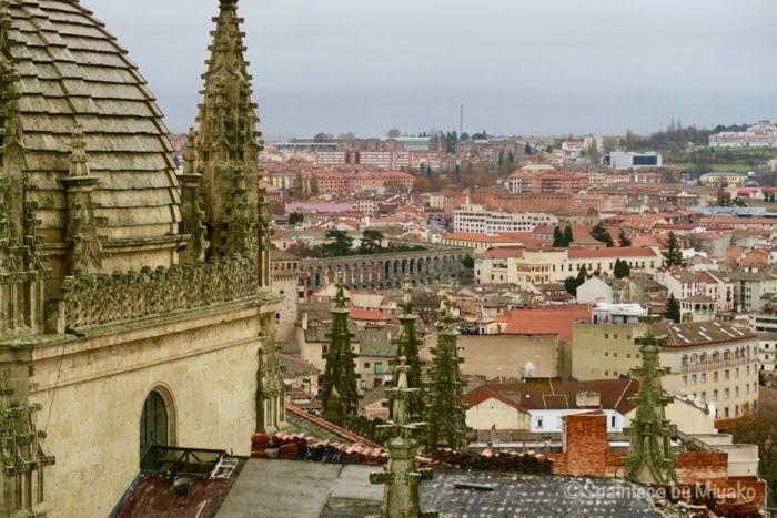 Segovia 世界遺産セゴビアの鐘楼からの眺め