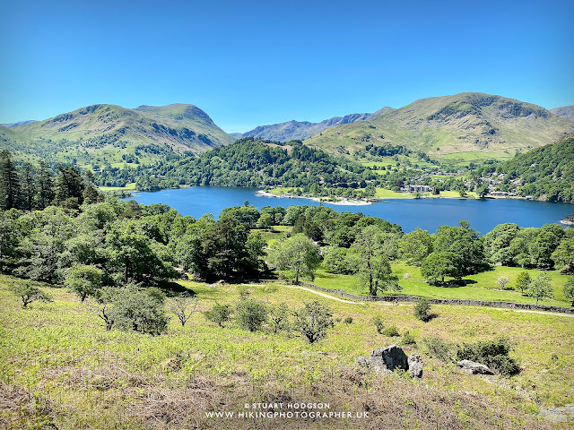 Ullswater walk Howtown Sandwick Glenridding best walk route map Steamer Boat