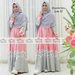 motif gamis jasmine hijab