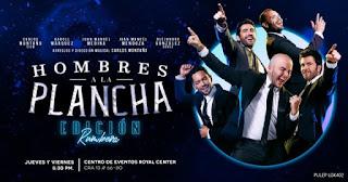 HOMBRES A LA PLANCHA en concierto | Temporada 2020