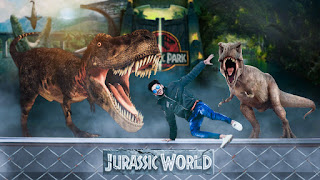 Jurassic world Picsart movie poster editing,picsart hollywood movie poster editing,manipulation editing like photoshop