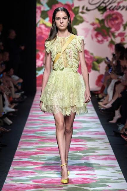 Модное платье весна-лето 2020 20