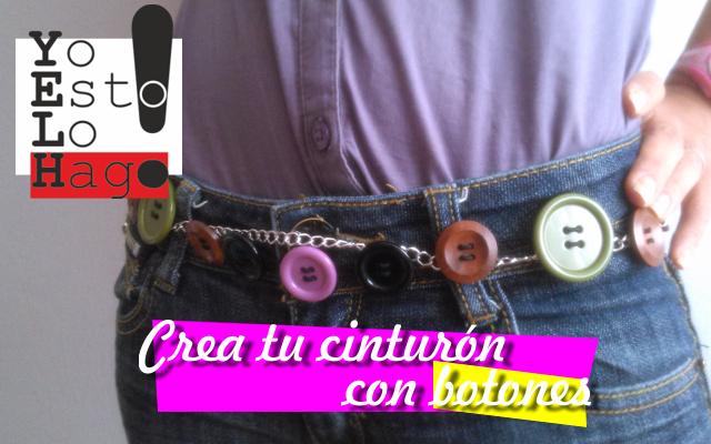 Cinturón con botones