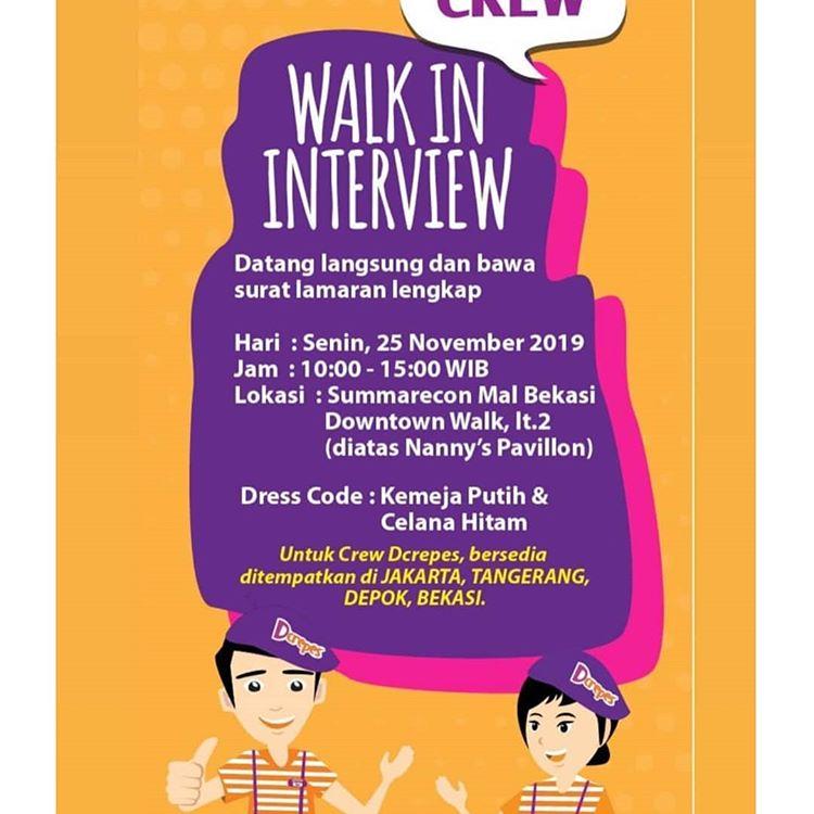 Loker Baja Ringan Bekasi Walk Interview Dcrepes November 2019 Syarat Wajib Sesuai Dress