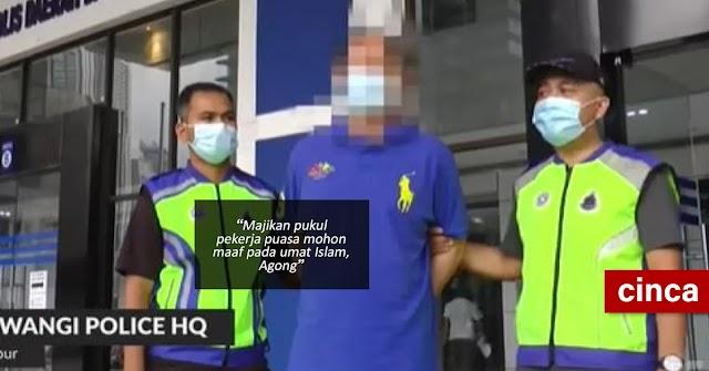 Majikan pukul pekerja puasa mohon maaf pada umat Islam, Agong