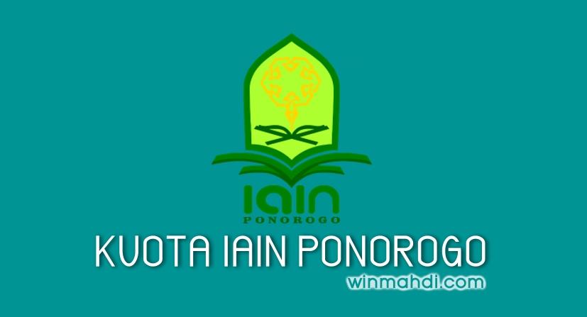 Kuota IAIN Ponorogo