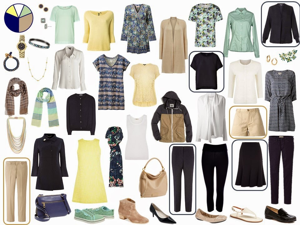 How to build a capsule wardrobe - step 16 - evaluate and balance neutral colors