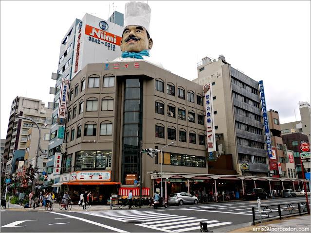 Kappabashi-Dori, Tokio