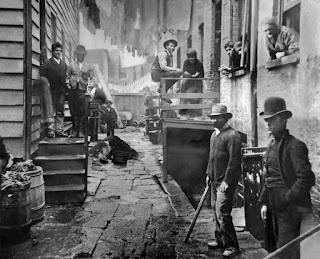 Bandas callejeras Nueva York - siglo XIX