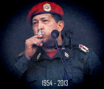Hugo Chávez últimas palabras