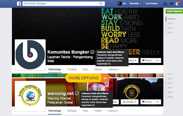 Blogger Aceh yang Memiliki FanPage Facebook Terverifikasi