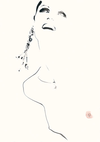 Doctor Ojiplático. David Downton. Fashion Illustration