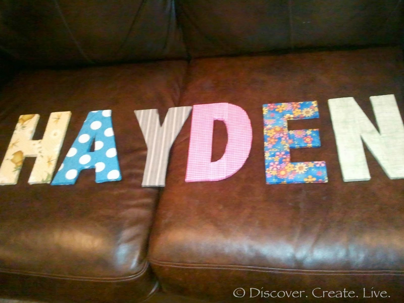 fabric and cardboard wall letters diy craft projects fabric and cardboard wall letters diy craft projects 715