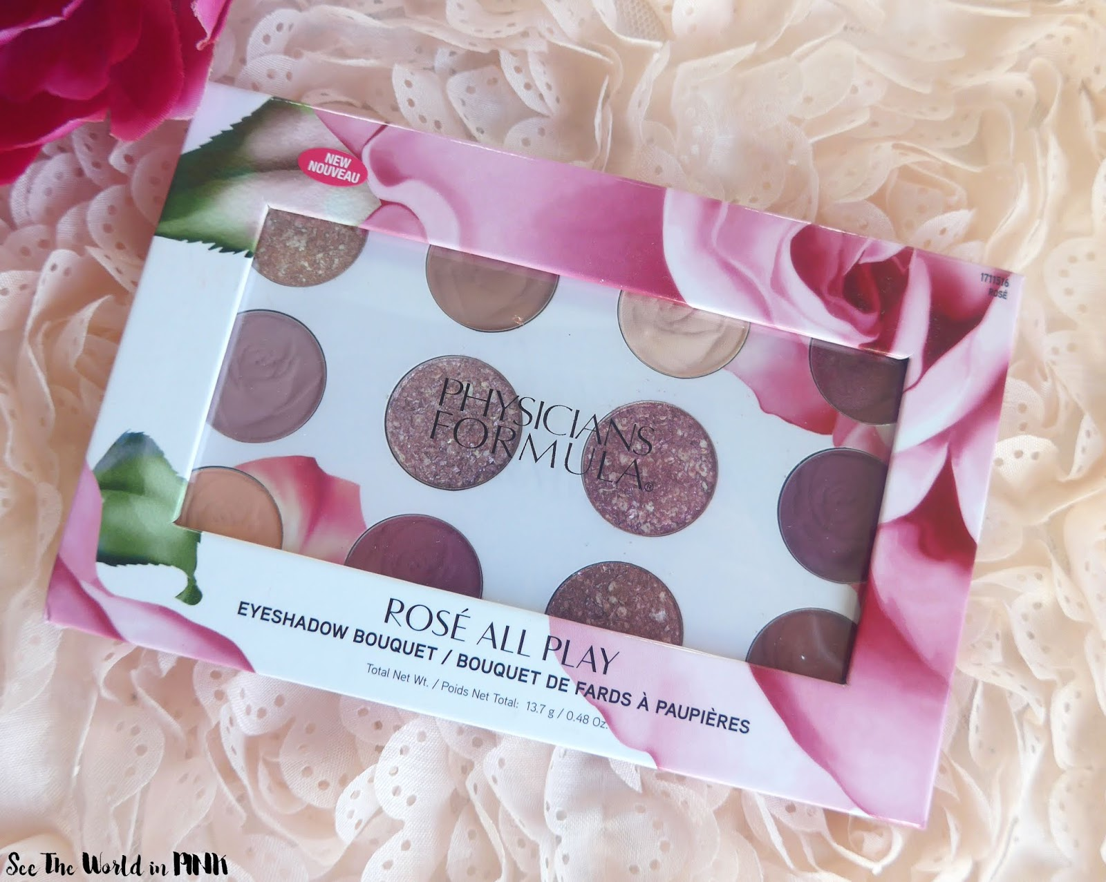 Physicians Formula New Rose All Day Products - Eyeshadow Bouquet and Set & Glow Powder and Balm